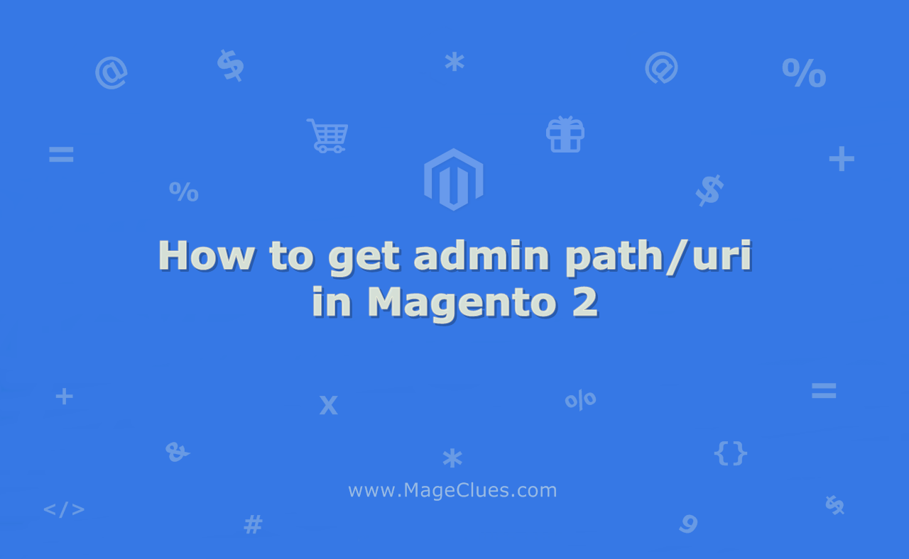 How to get admin path in Magento 2