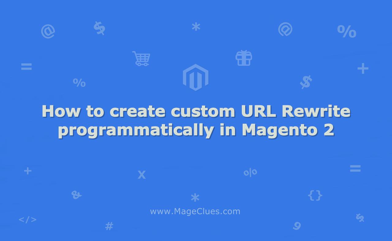 How to create custom URL Rewrite programmatically in Magento 2